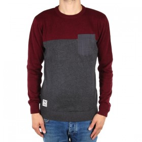 IRIEDAILY BLOCK FLAG CREW KNIT